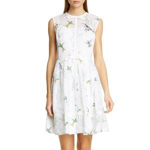 Ted Baker Aleska Fortune embroidered bow dress